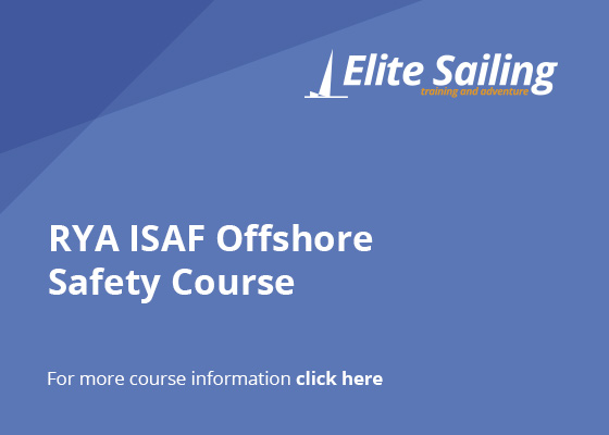 Elite Sailing |  RYA ISAF Offshore Safety